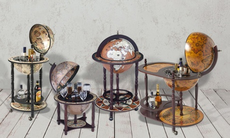 Bar Globe in Choice of Design With Free Delivery