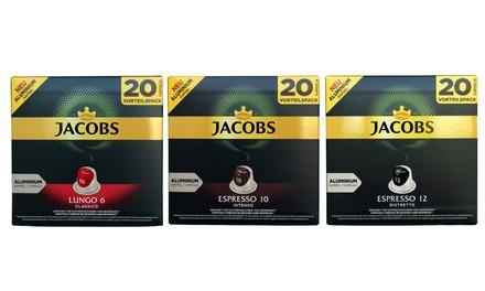 120x Kapseln gemahlenerRöstkaffee von Jacobs in der Sorte und Intensität nach Wahl