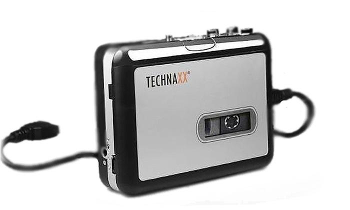 convertisseur de cassettes technaxx groupon shopping. Black Bedroom Furniture Sets. Home Design Ideas
