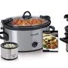 Crock-Pot Cook & Carry Set with Little Dipper (6.5-Quart)