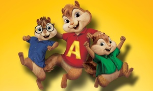 "Alvin and The Chipmunks Live on Stage! : ""Alvin and the Chipmunks: Live on Stage!"" at Lowell Memorial Auditorium on October 8 (Up to 52% Off)"