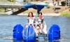 Up to 35% Off Aqua Cycle Rental at Navajo Lake Marina