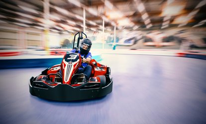 image for $48 for a Racing Package with Four Races and Two Yearly Licenses at K1 Speed ($91.96 Value)