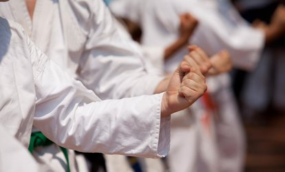 Up to 78% Off 4 Weeks Kids & Adult Karate Classes with Uniform