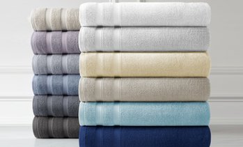 Premium Quality Over-Sized 100% Cotton Towel Sets (2, 4 or 6-Piece)