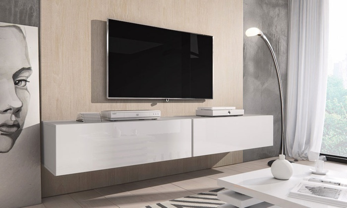 Floating-Effect Rocco TV Unit