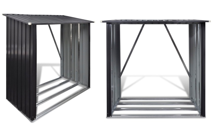 abri de jardin en acier galvanis groupon. Black Bedroom Furniture Sets. Home Design Ideas