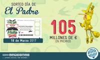 Participación de 30 décimos con la peña La Bruixa dOr para el sorteo del Día del Padre por 10,50 € con Serviapuestas
