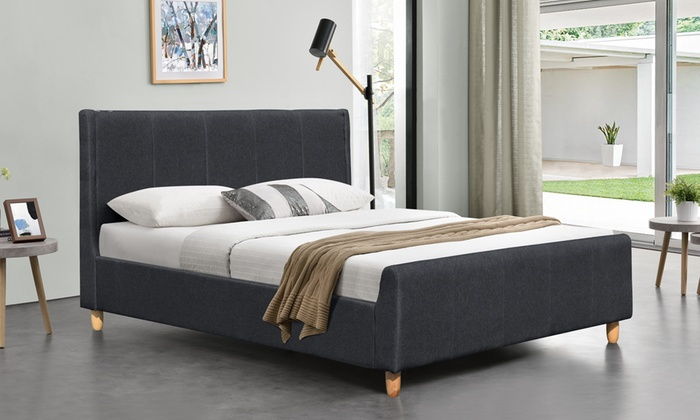 Fabric Juliette Bed with Optional Mattress