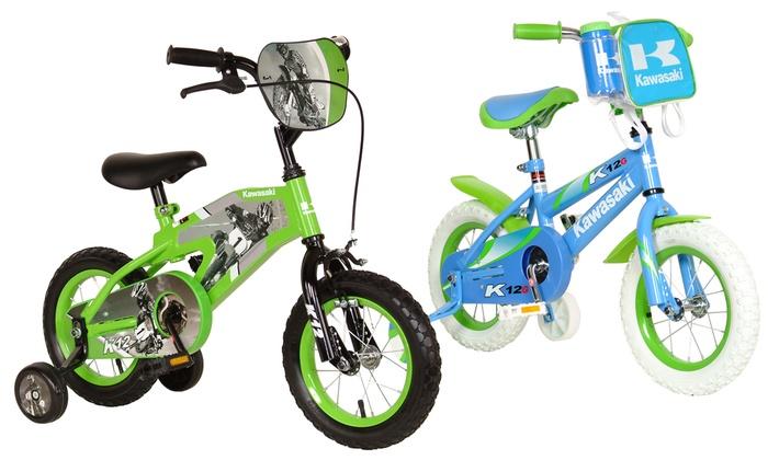 "kawasaki k12 12"" kids' bikes | groupon goods"