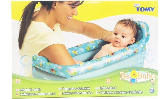 tomy inflatable bath groupon goods. Black Bedroom Furniture Sets. Home Design Ideas
