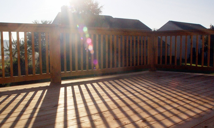 Fresh Look - St Catharines-Niagara: Power Washing on a 12'x15' or 15'x15' Deck from Fresh Look (Up to 56% Off)