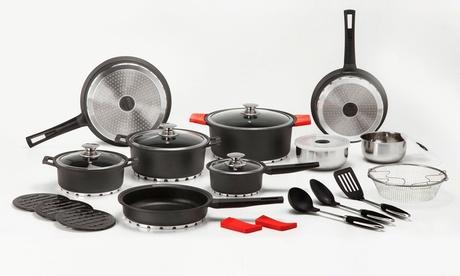 Batería de cocina profesional Newlux de 27 piezas