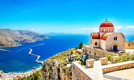 ✈ Grèce, Chalcidique: 4 ou 7 nuits à lhôtel Alkyonis avec petit déjeuner, location de voiture et vol A/R de EIN ou CRL