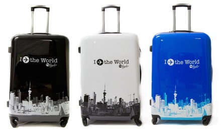Valise grande taille Trolley ADC à 4 roues, modèle World