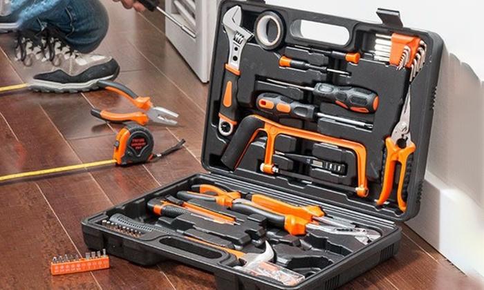 Maleta de herramientas de trabajo groupon goods - Maletas para herramientas ...