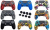 Anti-Slip Silicone Protector for Sony PS4 Controller (1- or 2-Pack)