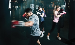 TITLE Boxing Club: Two Weeks of Boxing and Kickboxing Classes at TITLE Boxing Club (Up to 73% Off)