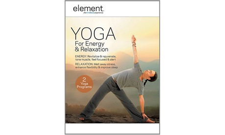 Element: Yoga for Energy & Relaxation DVD c9eb5416-8c24-11e7-bdda-00259069d868