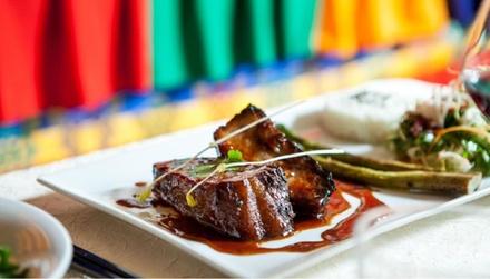 Entrée, plat et dessert au choix à la carte pour 2 personnes dès 24,90 € au restaurant Le Shambhala