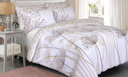 Pieridae Spring Meadow Duvet Cover Set