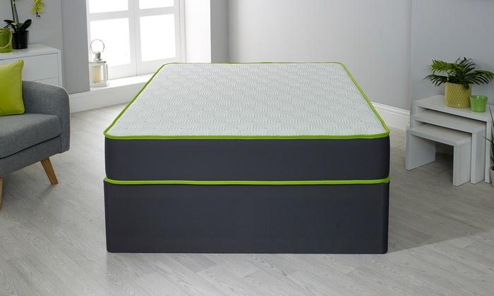 Lime 1000 Pocket Memory Foam Mattress