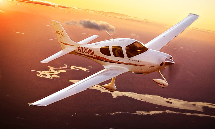 Adventure 001 - Multiple Locations: 30 minute Flying Lesson and 30 minutes observing in the rear for One or Two at Adventure 001, 11 Locations (52% Off)