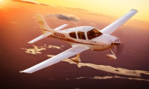 Adventure 001: 30 minute Flying Lesson and 30 minutes observing in the rear for One or Two at Adventure 001, 10 Locations (52% Off)