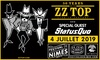 """""""ZZ Top et Status Quo"""" au Festival de Nîmes"""
