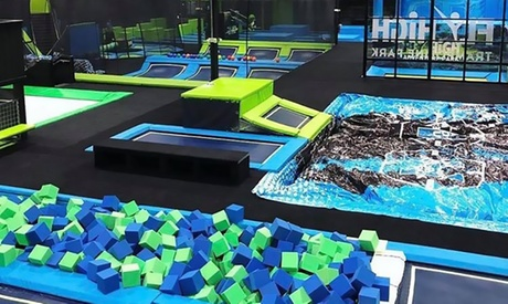 Admission or Birthday Party at Fly High Trampoline Park (Up to 37% Off). Three Options Available.