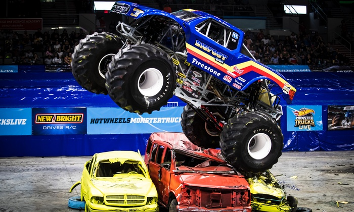 Hot Wheels Monster Trucks Live In Trenton Nj Groupon