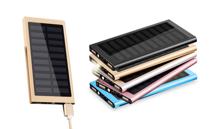 bis zu 89 rabatt solar powerbank mit 20000 mah groupon. Black Bedroom Furniture Sets. Home Design Ideas
