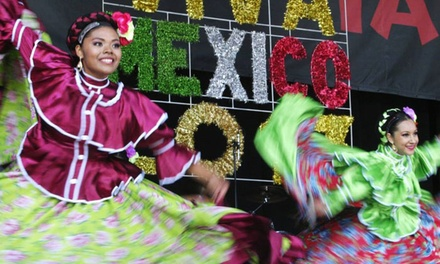 $17 for Single-Day Admission for Two to Mexican Fiesta, August 21–23 ($30 Value)