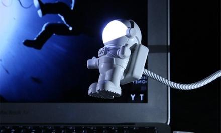 1 o 2 mini lámparas de astronauta