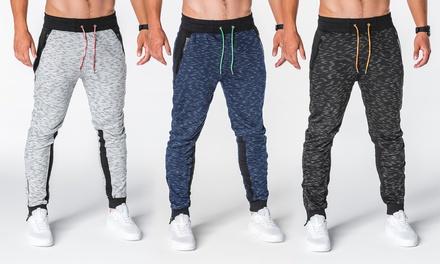 Pantalon de Jogging pour Homme coloris chiné