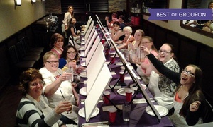 Paint and Pour: $19.99 for Two-Hour Painting Class for One at any Paint and Pour Venue ($35 Value)