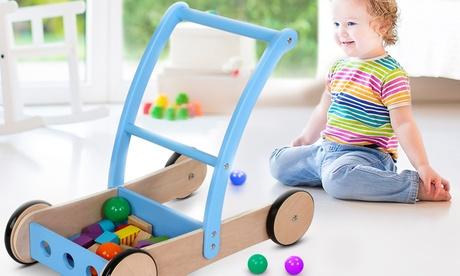 Andador de madera para bebé