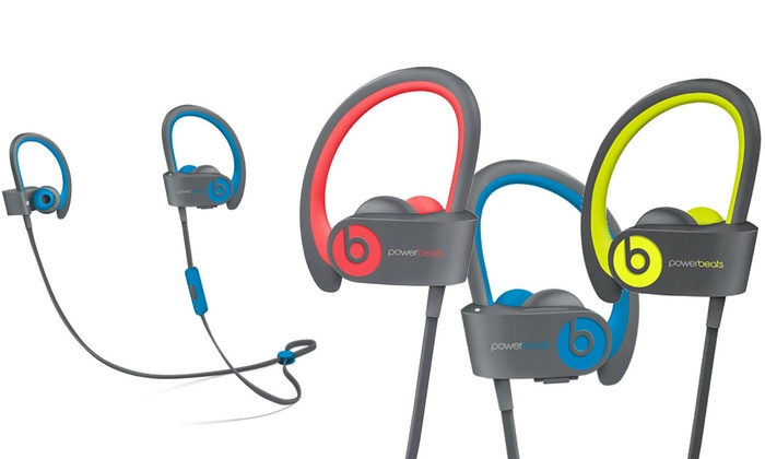 Beats By Dr Dre Powerbeats2 Wireless In Ear Headphones Refurbished Groupon