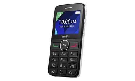 Móvil Alcatel OneTouch 20.08G libre con envío gratuito