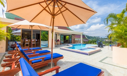 Phuket: Five or SevenNight Pool Villa Stay for Eight People with Breakfast, Wine and Massage at Private Villas Phuket
