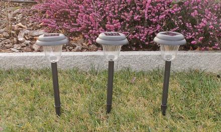 6 lampade da giardino a led groupon goods for Groupon giardino
