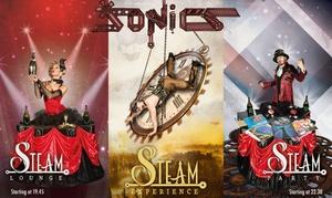 Sonics in Steam : Sonics in Steam - Performance e acrobazie mozzafiato al Teatro Nuovo di Torino nel periodo natalizio e a Capodanno