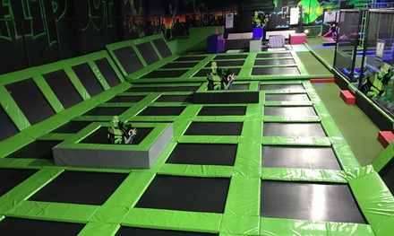 Trampoline Jumping Session for One, Two or Four at Flip Out Preston (Up to 33% Off)