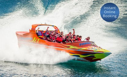image for Jet Boat Ride for One ($95), Two ($190) or Eight People ($760) with Thunder Jet Queenstown (Up to $1,000 Value)