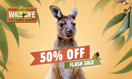 WILD LIFE Sydney: Child ($15.50) or Adult ($22) Entry (Up to $44 Value) - Valid till 31st May 2021