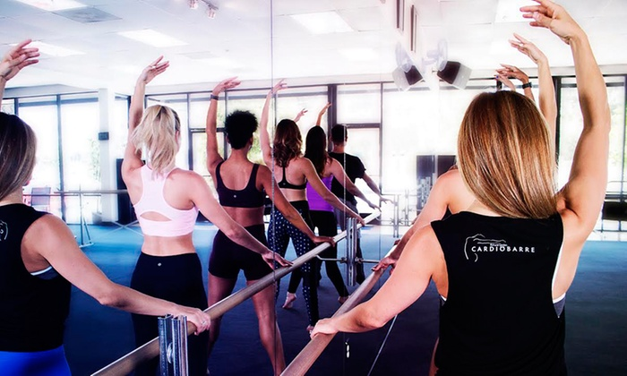 Cardio Barre Hollywood - Hollywood: $39 for Five Cardio Barre Fitness Classes at Cardio Barre in Hollywood ($100 Value)