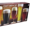 6-Piece Set of Assorted Craft-Beer Glasses