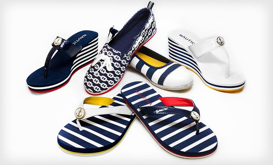Nautica Women S Espadrilles And Sandals 40 Off The