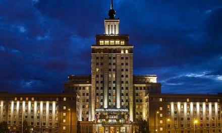 Prague : 1 à 3 nuits avec petit déjeuner buffet à lHôtel International Prague 4* pour 2 personnes