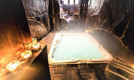 Bermellar: casa rural para 4 o 6 personas con spa privado y botella de cava o vino en Casa Rural Therma Agreste 4*